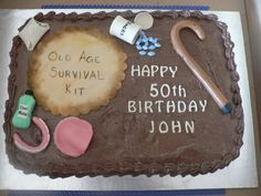 50th Birthday Cakes for Men | Free for All: over the hill(poll)