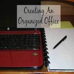 Creating An Organized Office