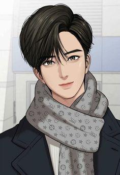 True Beauty on Webtoon Suho, Handsome Anime Guys, Cute Anime Guys, Anime Korea, Dream Anime, Islamic Cartoon, Kpop Drawings, Webtoon Comics, Cha Eun Woo