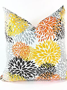 Pillow mix color Cushion  Covers Pillow by TwistedBobbinPillows