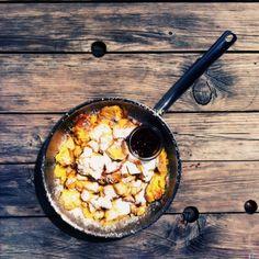 kaiserchmarren (5) (624x624) Breakfast Dessert, Breakfast Ideas, Kaiser, Paella, Deserts, Traditional, Eat, Ethnic Recipes, Food