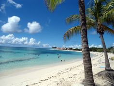 Plage des raisins clairs, Saint-François, Guadeloupe Beaches In The World, Us Beaches, Places To Travel, Travel Destinations, Places To Go, Tahiti, Cuba, Vacation Pictures, Island Beach