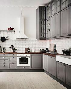Interiors | Grey & White Swedish Apartment | Dust Jacket | Bloglovin'