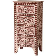 Rose and Ivory bone inlay cabinet | Furniture | Pinterest | Interiors