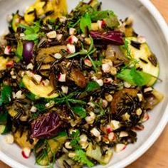 #176983 - Grilled Vegetable Wild Rice Salad with Fish Sauce Vinaigrette