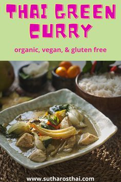 Thai Green Curry in under 10 minutes! Just added baby corn, bok choy, and chicken breast. Sutharos Thai meal kits make it easy to cook delicious authentic Thai dishes. Thai Green Curry Recipes, Thai Green Curry Paste, Curry Dishes, Thai Dishes, Curry Seasoning, Curry Ingredients, Fresh Vegetables, Spicy, Breast