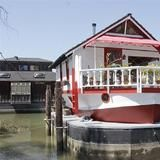 How about the lower end of the price range? This is one of the least expensive  houseboats  on the market, with 2  bedrooms  and 1 bathroom in 900 square feet, and it's pretty darn sweet.  | HGTV FrontDoor