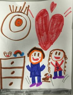 Made by Madalyn, 6 years old, Artist Of The Day on 02/13/2015 • Art My Kid Made