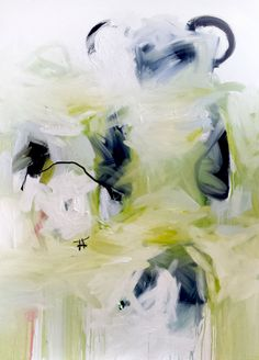 Jennie Gallaine - 140 x 100 cm - oil and pastel on canvas Pastel, Oil, Abstract, Canvas, Artwork, Painting, Summary, Tela, Pie