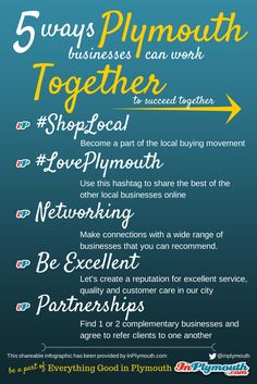 5 Ways Plymouth Businesses Can Work Together [INFOGRAPHIC]