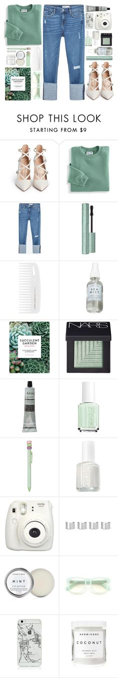 """#859 Alicia"" by blueberrylexie ❤ liked on Polyvore featuring Gianvito Rossi, Blair, Zara, Herbivore Botanicals, Chronicle Books, NARS Cosmetics, Aesop, Essie, Ladurée and Maison Margiela"