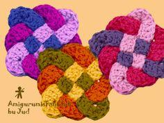 AmigurumisFanClub, ...square-knot!!! http://cafedameiatarde.blogspot.com.es/2012/04/square-trancado.html