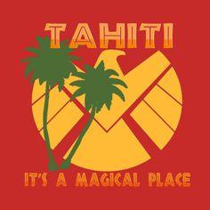 Awesome 'Tahiti+-+S.H.I.E.L.D.' design on TeePublic!