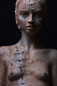 "Christian Zucconi, sculpture - My Thoughts ""Reminds one of Healing the Scars of Imperfection""m"