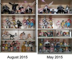 Collection: May 2015 vs August 2015 ‹ Pictures - MyFigureCollection.net (Tsuki-board.net)