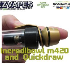 #Incredibowl #m420 and QuickDraw Release Trigger