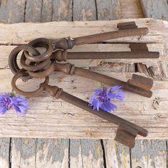 Set of old vintage keys, keys, vintage lock, door,  brocante antiques key,  key, keys , shabby chic