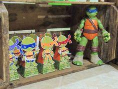 Encontrando Ideias: Festa Tartarugas Ninjas!!