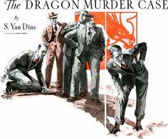 """The Dragon Murder Case"" Melting Pot, Vintage Branding, Pulp Fiction, American Horror Story, Golden Age, Great Artists, Detective, Vintage Art, The Past"