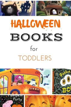 Halloween books for toddlers and preschoolers. If you are looking for some great books for toddlers with a Halloween theme, then we have selected them for you! We've found some of the best toddler Halloween Books for a spooktacular story time! Fun Halloween Games, Easy Halloween Crafts, Halloween Books, Toddler Halloween, Halloween Themes, Halloween Tricks, Spooky Halloween, Halloween Pumpkins, Happy Halloween