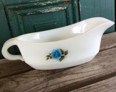 Collectable fab colors Serving Bowl 1960/'s flower power English Milk Glass bright colours vintage gift idea Vintage Phoenix Opalware