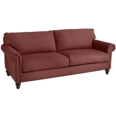 Alton Sofa - Russet - If I had a million dollars. Or at least $800 (Pier1.com)