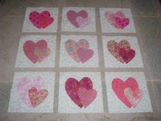 http://www.ebay.com/itm/9-Scrappy-Pink-Hearts-Quilt-Top-Blocks-/300646539072?pt=LH_DefaultDomain_0&hash=item45ffee1f40