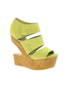 DV8 Javelin Cut Out Suede Wedges.. like the color not sure about the wedge :-)