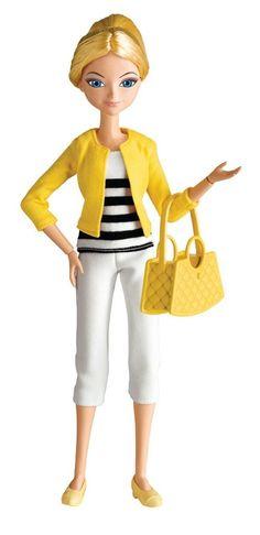 """Bandai Miraculous Ladybug Chloe Bourgeois Student 10.5"""" Fashion Doll"""