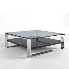 Home mesas de cristal on pinterest mesas zaragoza and - Mesas de centro modernas para sala ...