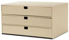 goldbuch Boîte à tiroirs 'off-line Trend', 3 tiroirs