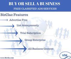 BizClaz, the B2B marketplace for business assets & services.We facilitate advertising of businesses for sale, franchises, commercial land for development, commercial auctions, space for lease, professional B2B services http://www.bizclaz.com/features.html  #businessassets #businessforsale #b2bservices #commercialauctions #bizclaz