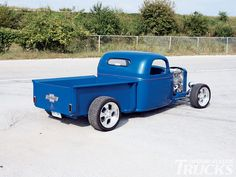 street rod trucks | 1941 Chevy Street Rod Pickup Truck Open Wheel Truck