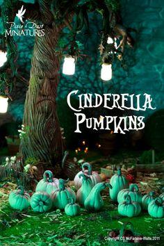 Pixie Dust Miniatures: Cinderella Pumpkins