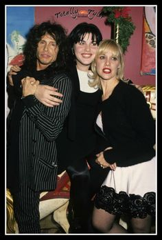 STEVEN TYLER, DAUGHTER MIA, EX-WIFE CYRINDA.