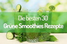 Grüne Smoothies Rezepte: Die besten 30 für jedermann!