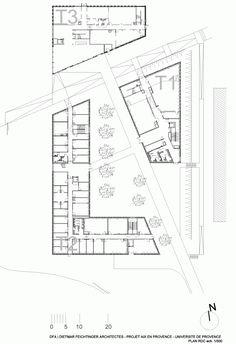 Université+de+Provence+in+Aix-en-Provence+Entension+/+Dietmar+Feichtinger+Architects