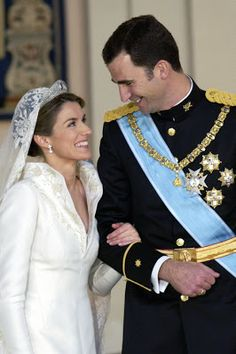 HRH Prince Felipe and HRH Letizia, Prince and Princess of Asturias of Spain