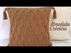 Crochet Flower Squares, Crochet Flowers, Crochet Pillow, Knit Crochet, Manta Crochet, Macrame, Pillow Covers, Crochet Patterns, Reusable Tote Bags