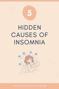 In this article, we talk about hidden causes of insomnia so you can identify the cause of your insomnia and find ways to fix it. Read more! #insomnia #sleep High Cortisol, Low Estrogen, High Testosterone, Future Energy, Trouble Falling Asleep, Insomnia Causes, Sleep Medicine, Natural Sleep Remedies, Sleep Issues