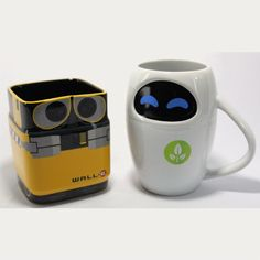 Well-E and Eve Mug Set