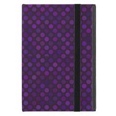 dots cross line curve design abstract shapes color iPad mini cover - gift for him present idea cyo design