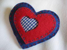 alidei: corazones de fieltro / felt hearts