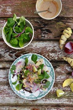 Winter salad / Petits repas [GREEN] entre amis