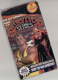 Survivor Series 6th Annual 1992 VHS Video