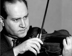 David Oistrakh is one of the most famous violinists of all time. His best recording is of Tchaikovsky's Concerto No.1.