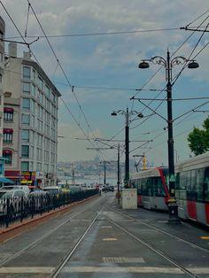 Istanbul, Street View, Retro, Retro Illustration