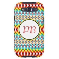 Oriental tribal rhombus native pattern duogram samsung galaxy SIII cases #classic #tribal #rhombus #duogram #customizable #smartphone #case #gift
