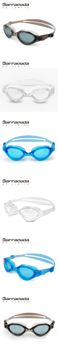 Barracuda Swim Goggle BLISS Anti-fog UV Protection Easy adjusting Quick Fit Triathlon Open Water for Adults Men Women #73320