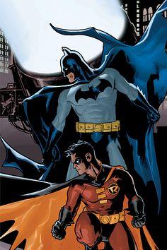 Batman / Robin - Ryan Sook